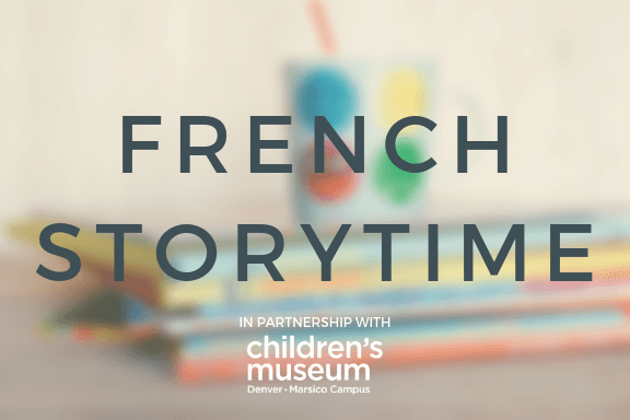 French Storytime - 3/18/19