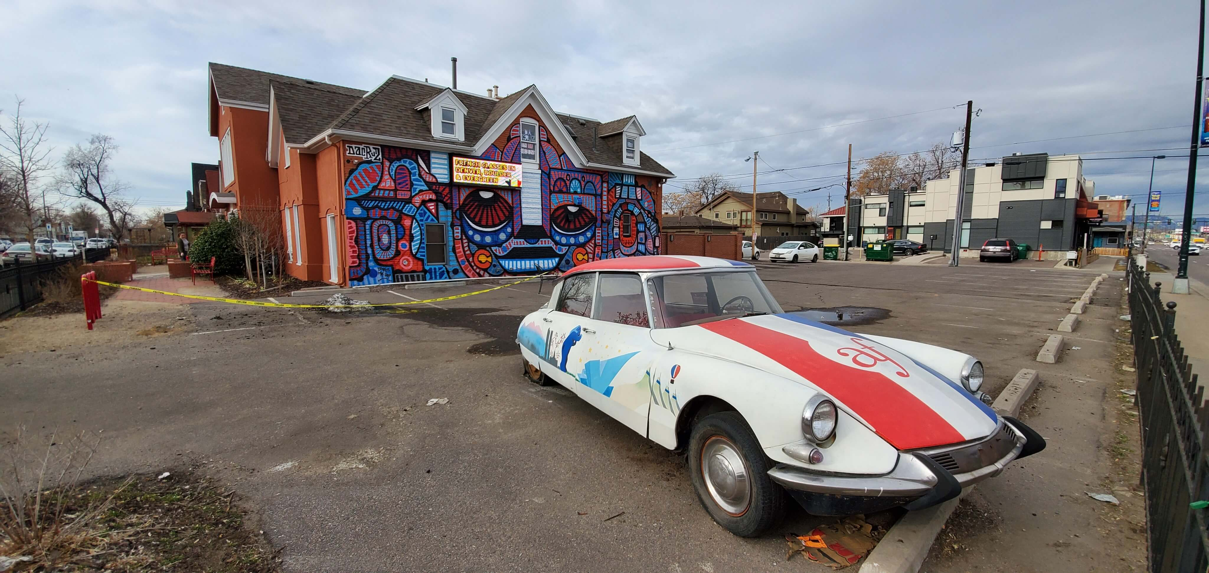 THE AFD'S 1964 CITROËN DS – A NEW FRENCH LANDMARK IN DENVER!