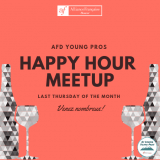AFD Young Pros Happy Hour Meetup - 1/24/19