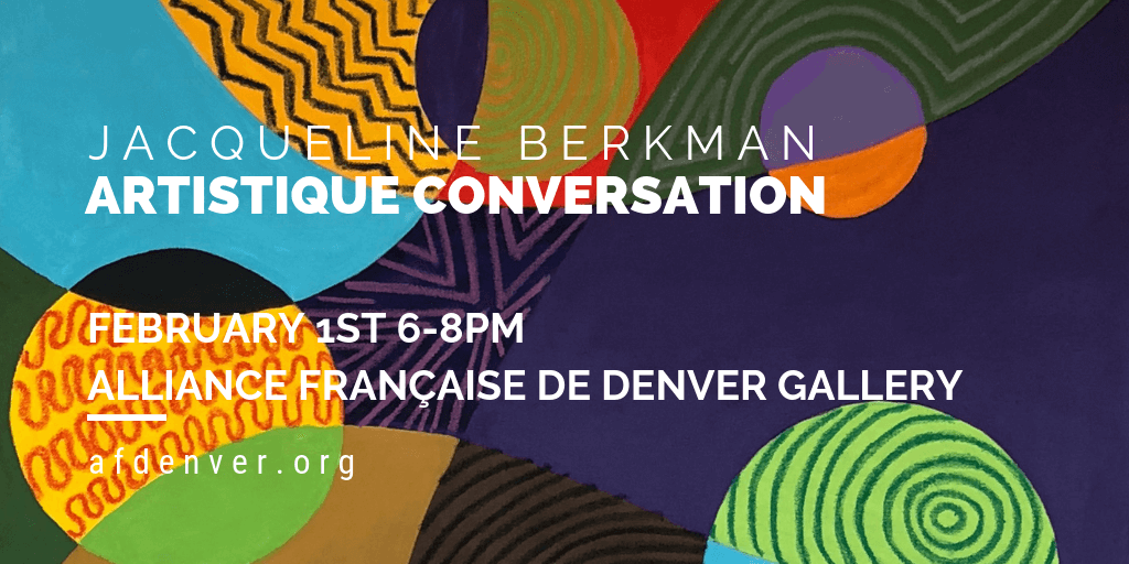 First Friday with Jacqueline Berkman - 2/1/19