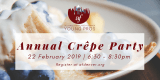 AFD Young Pros Annual Crêpe Party - 2/22/19